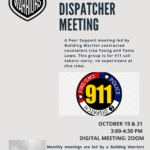 Dispatch Debrief Group – Free to all dispatchers