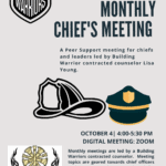 Chief Debrief Group – Free to all leaders